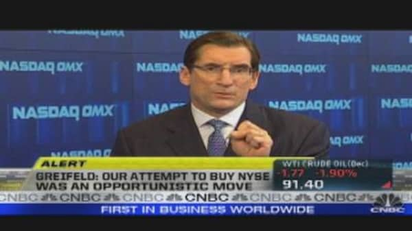 Nasdaq CEO: Increasing Optimism in IPOs