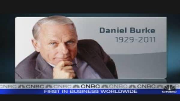 Former Cap Cities/ABC CEO Daniel Burke Dies