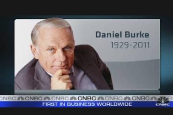 Former Cap Cities/ABC CEO Daniel Burke Dies