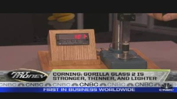 Trading Corning's New Gorilla Glass 2