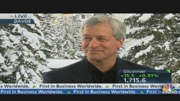 Dimon on World Economy, Geithner & Bernanke