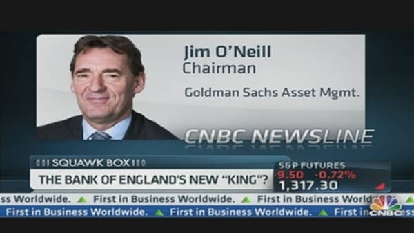 The Bank of England's New 'King'?