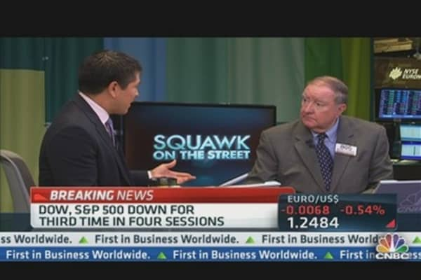 Cashin: 'It's About a Global Slowdown'