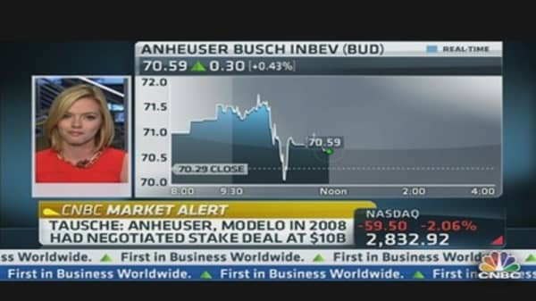 Deal Brewing Between Grupo Modelo and Anheuser