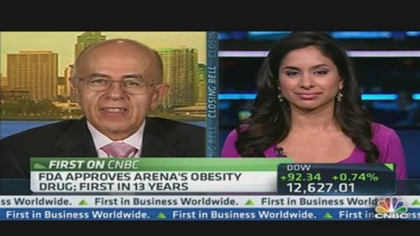 Arena CEO: Over a Third of Adult Population Is Obese
