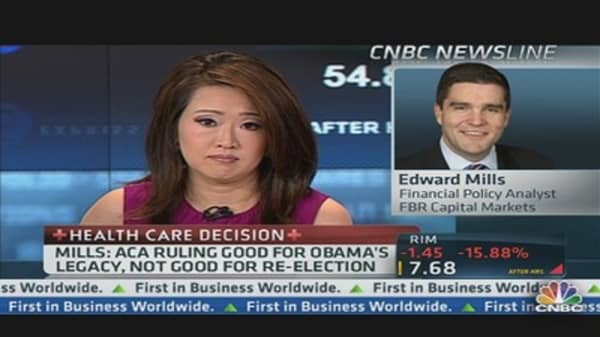 ACA Impact on Election & Markets