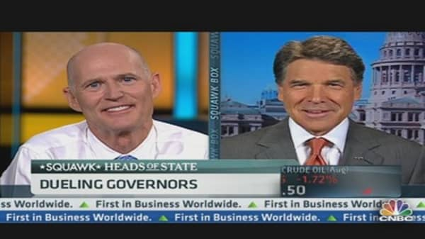 Dueling Governors: Florida vs. Texas