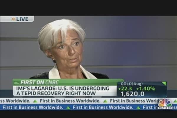 IMF's Lagarde: Fiscal Cliff, Euro Zone & Banks