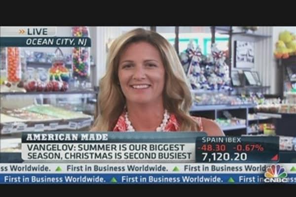 A Boardwalk Business That's Tops in Taffy