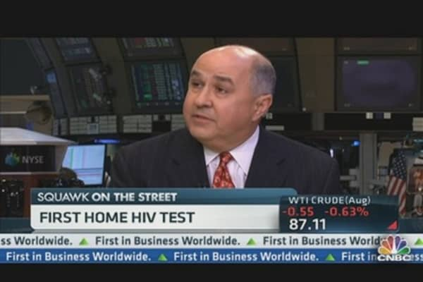 First Home HIV Test Shown