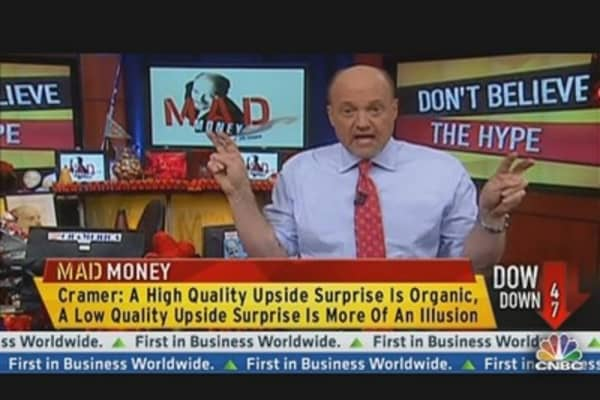 Cramer: Don't Believe the Hype!