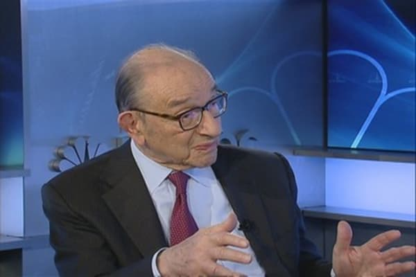 Greenspan: US Economy, Fed Stimulus & Obamacare