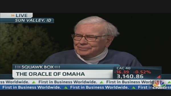 Buffett Sees Pick-Up in Residential Housing