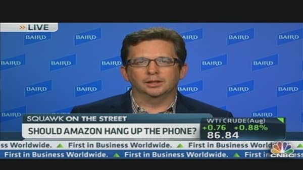 Analyst Call on Amazon Phone: Hang Up!