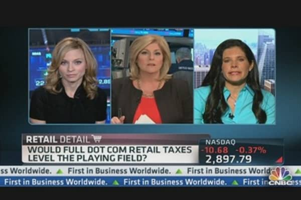 Taxes on Internet Retail