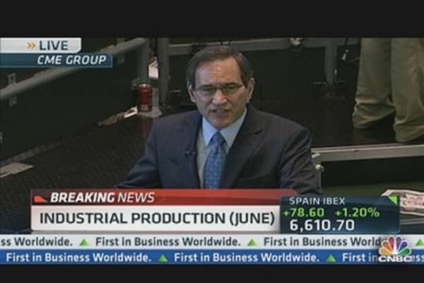 June Industrial Production Up 0.4%