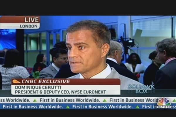 NYSE Euronext: The IPO Market has Been Tough