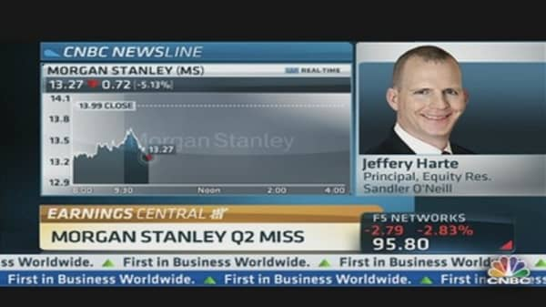 Morgan Stanley Q2 Results Miss Expectations