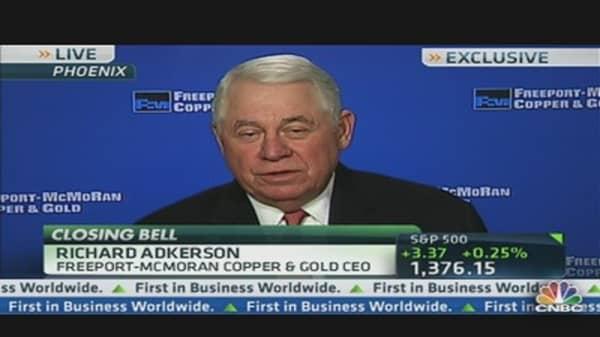 Freeport-McMoran CEO: Earnings, Copper & China