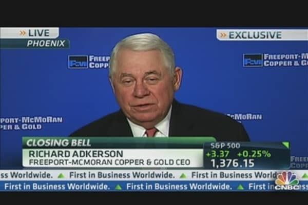Freeport-McMoran CEO: Earnings, Copper & China