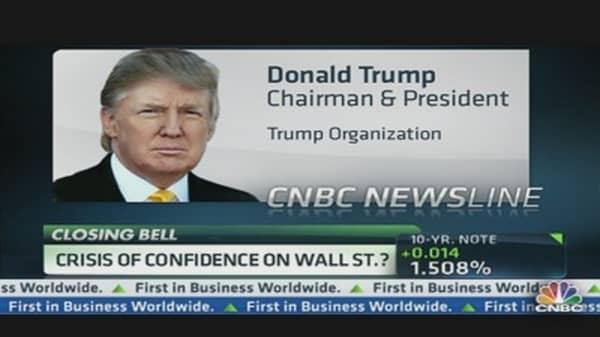 Trump Talks Justice on Wall Street