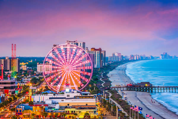 Myrtle Beach, South Carolina.