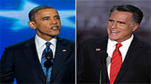 Barak Obama, Mitt Romney