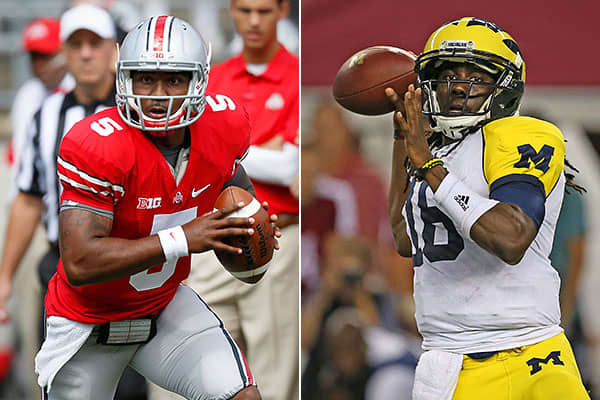 "Average ticket price: $402.64Date: Nov. 24The game alternates between the Buckeyes' and the Wolverines' home stadiums each year and matches up one of the longest standing rivalries of the Big 10. That makes it a ""pretty hot ticket,"" according to Matcovich."