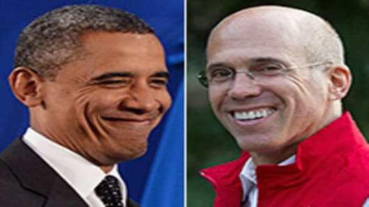 Barak Obama, Jeffery Katzenberg