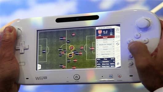 Nintendo's Wii U GamePad.