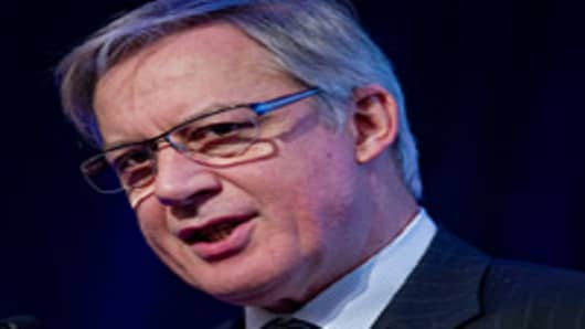 Christian Noyer, governor of the Bank of France and a member of the European Central Bank governing council.