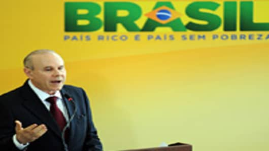 Brazilian Finance Minister Guido Mantega.