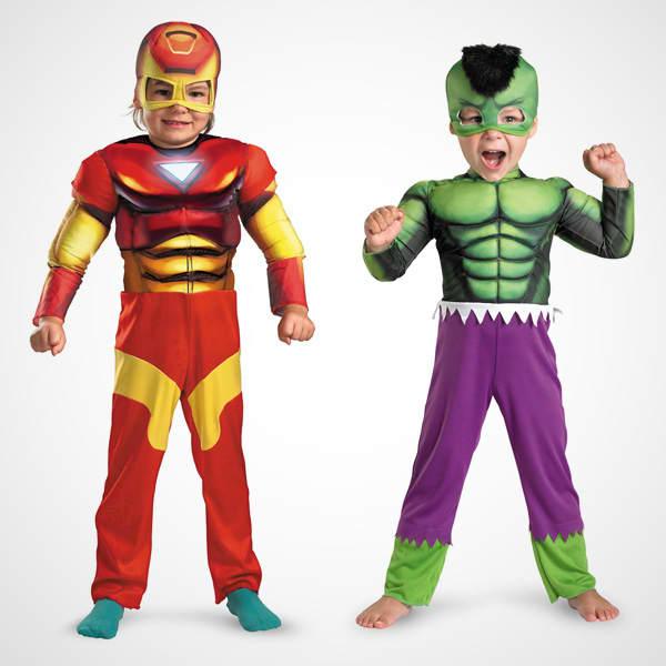 49200336 halloween costumes kids 2012 ironman hulkjpg - Heroes Halloween Costumes