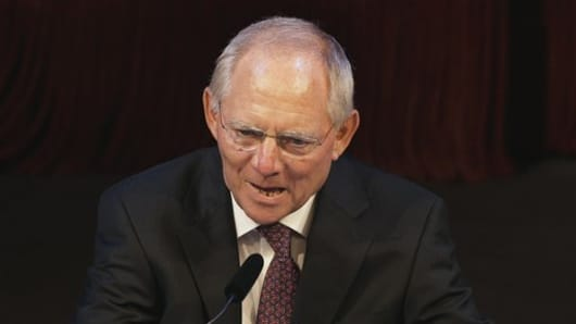 German Finance Minister Wolfgang Schaeuble (AP Photo/Michael Sohn, Pool)