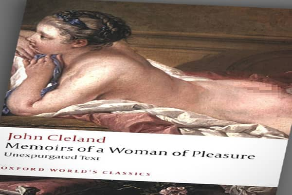 "By John Cleland Publisher: Putnam Considered the first true erotic novel, Cleland wrote, ""Memoirs of a Woman of Pleasure"" in 1749 while he was in debtor's prison in London, or so the legend has it. A true game changer, it was the first of its kind – an English novel whose plot was just about one thing — sex. His first version landed Cleland back in jail, charged with publishing an obscene book. One year later, a censored version called ""Memoirs of Fanny Hill"" was issued and survived a prosecutio"