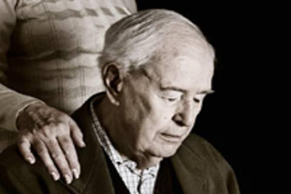 Man with Alzheimer