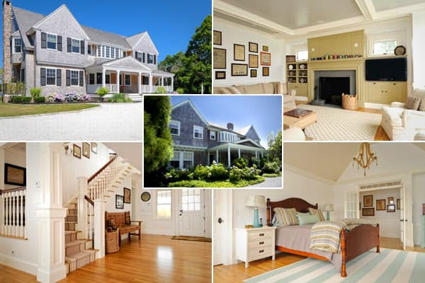 "Location: Falmouth, Upper Cape Cod, Mass. Price: $2.995 millionBedrooms: 5Bathrooms: 4 full, 1 halfSquare footage: 3,934The original Grey Gardens [pictured at center], a shingle-style home in East Hampton, on Long Island, N.Y., was the home of Jacqueline Kennedy Onasis's aunt Edith Bouvier Beale and her daughter ""Little Edie."" The house first drew notoriety with the 1975 documentary of the same name, which revealed that the two ladies were living in squalor in the once-grand home. With new owner"