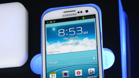 Samsung Galaxy S smartphone
