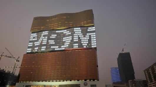 MGM Grand Casino in Macau.