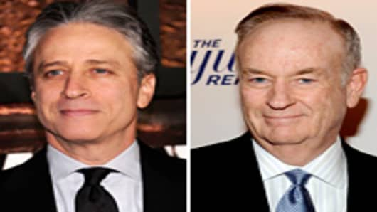 Jon Stewart and Bill O'Reilly
