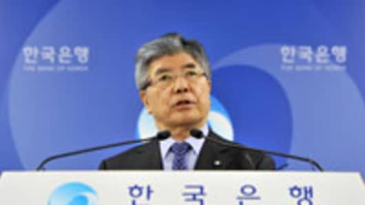 Bank of Korea Governor Kim Choong-Soo