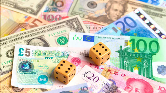 Global currency and dice