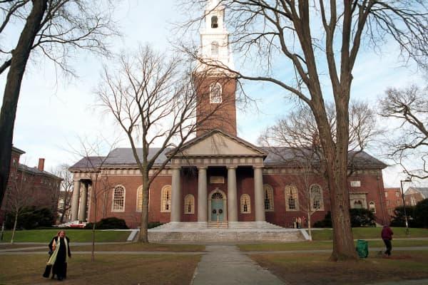 Harvard University's main campus in Cambridge, MA.