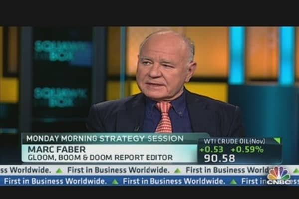 Faber: 'Reduce Government by Fifty Percent'