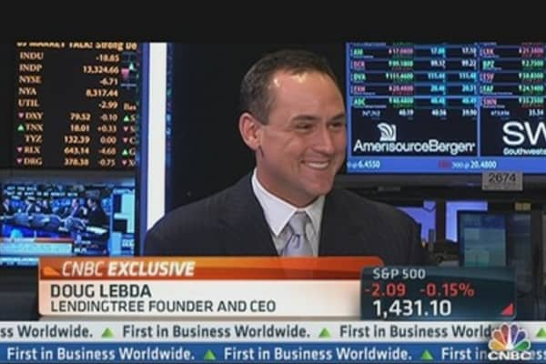 Lending Tree CEO on Loan Buyback Fears