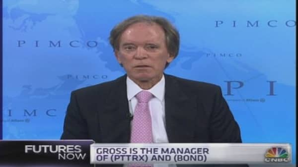 Bill Gross: Stocks Could Outperform Bonds Over Time