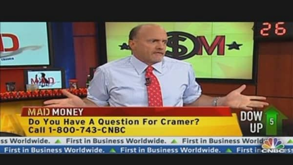 Cramer: Homework Is the Name of the Game