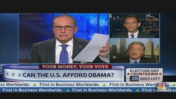 Can the US Afford Obama?