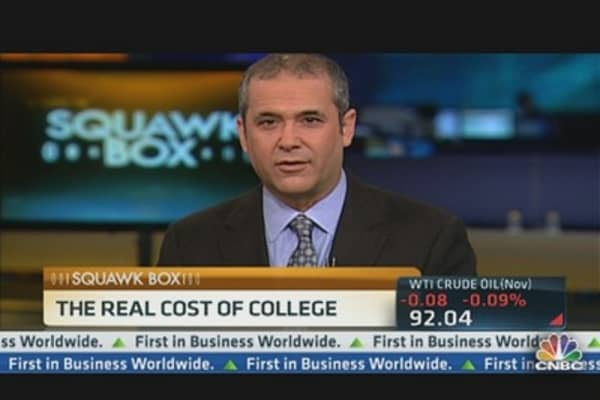 Students Face Their Own Debt Bubble