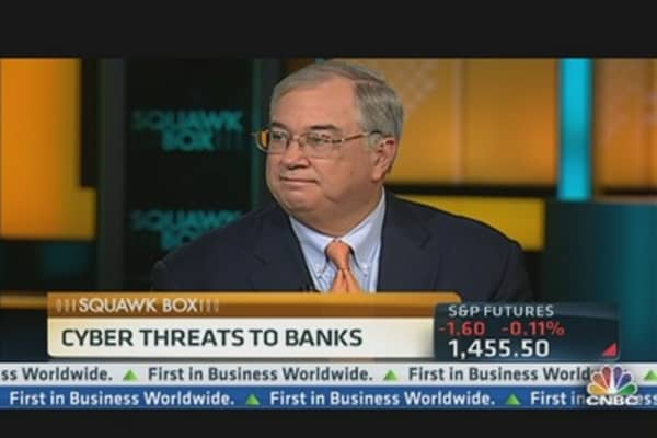 PNC CEO: Cyber Attacks Threaten Banks